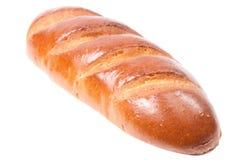 Petit pain frais sur un fond blanc Image stock
