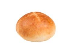 Petit pain français d'isolement sur le fond blanc Images libres de droits