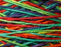 Petit pain multicolore de fil Image stock