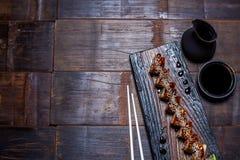 Petit pain noir de dragon Image libre de droits