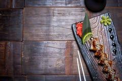 Petit pain noir de dragon Photos stock