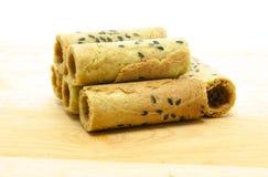 Petit pain thaïlandais de biscuit de noix de coco Photo stock