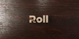 Petit pain - titre en bois sale sur l'érable - image courante gratuite de redevance rendue par 3D illustration stock