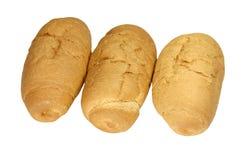Petit pain trois de pain Image libre de droits