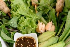 Petit pain vietnamien ou Namnuang d'été Photos libres de droits