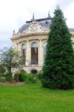 Petit Palais, Παρίσι, εξωτερικό προς τον ποταμό Σηκουάνας Στοκ εικόνα με δικαίωμα ελεύθερης χρήσης