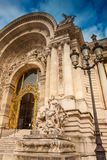 Petit Palais in a cloudy winter day just before spring royalty free stock photo