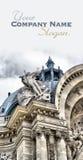 Petit Palais detail of the fa�ade. Detail of the sculptures in the fa�ade of the Petit Palais in Paris stock photo