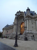 Petit Palais-Eingangs-Licht Lizenzfreie Stockfotografie