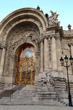 Petit Palais Entrance in Paris Royalty Free Stock Photo
