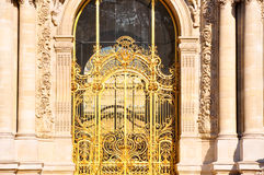 The Petit Palais facade in Paris, France. Stock Photos