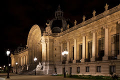 Petit Palais i Paris. Arkivfoton