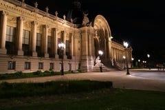 Petit Palais (liten slott) är ett museum i Paris, Frankrike royaltyfria bilder