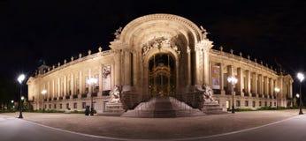 Petit Palais (liten slott) är ett museum i Paris, Frankrike arkivfoton