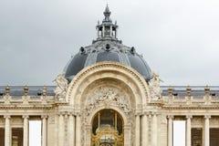 Petit Palais, Mały pałac muzeum w Paryż Fotografia Stock