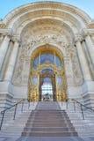 Petit Palais palace, beautiful decorated stairway entrance Stock Photography