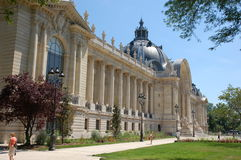 Petit Palais in Paris Stock Photo