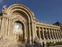Petit Palais in Paris Stock Image