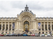 The Petit Palais. PARIS, FRANCE - MAY 15, 2016: The Petit Palais (small palace) is an art museum in the 8th arrondissement of Paris, France Stock Photography