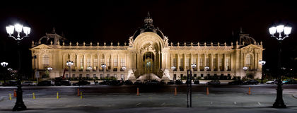 Petit Palais (pequeño palacio) fotos de archivo