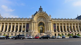 Petit Palais (small palace) at Paris Stock Photos