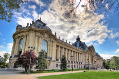 Petit Palais in spring Royalty Free Stock Photo