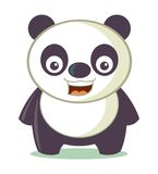 Petit Panda Cartoon Vector Illustration Photographie stock libre de droits