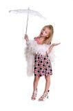 petit parasol blond Photo libre de droits