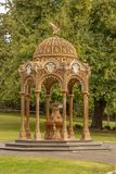 Petit pavillon en parc de ville, Launceston, Tasmanie images stock