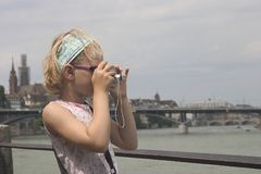 Petit photographe Images libres de droits