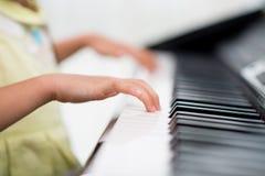 Petit pianiste image libre de droits