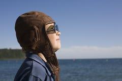 Petit pilote Images libres de droits