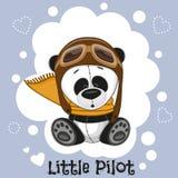 Petit pilote illustration stock
