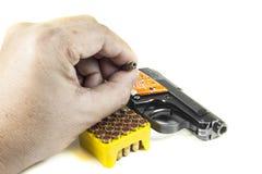 Petit pistolet 6 35 millimètres Photo stock