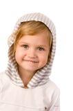 Petit plan rapproché mignon de fille Photographie stock libre de droits