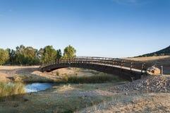 Petit pont en bois Photographie stock libre de droits