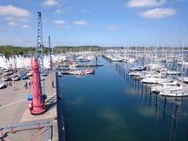 Petit port Images stock