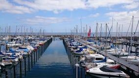 Petit port Image stock