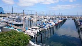 Petit port Photographie stock