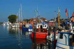 Petit port Photo libre de droits