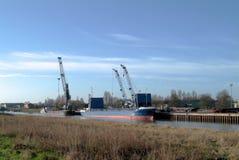 Petit port anglais Image libre de droits