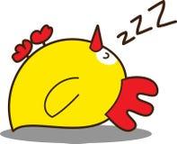 Petit poulet mignon Illustration de Vecteur