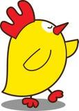 Petit poulet mignon Photo libre de droits