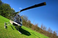 petit privé d'hélicoptère d'herbe Photographie stock