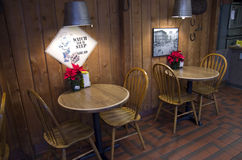 Petit restaurant Photo stock