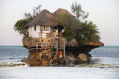 Petit restaurant la roche Image libre de droits