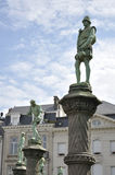 Petit Sablon i Bryssel (Belgien) Royaltyfri Foto