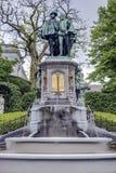 Petit Sablon Square in Brussels, Belgium Stock Photos