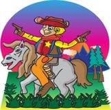 Petit shérif illustration de vecteur