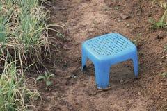 Petit siège en plastique Photos libres de droits